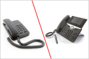Difference between Regular Phone and VoIP Phone
